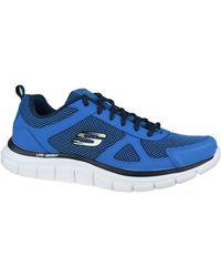 Skechers Track-Bucolo Chaussettes de sports - Bleu