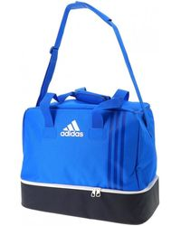 adidas Tiro tb bc s bleu$gris hommes Sac de sport en bleu