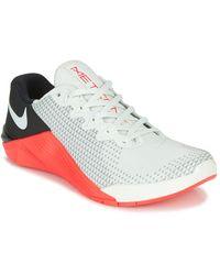 Nike Lage Sneakers Metcon 5 - Grijs