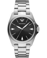 Armani Horloge Ar11255 - Metallic