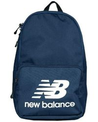 New Balance Classic Backpack Women's Backpack In Multicolour - Blue