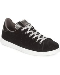 Victoria - Lage Sneakers Deportivo Terciopelo - Lyst