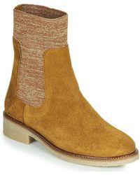 Bensimon Laarzen Boots Chaussette - Bruin