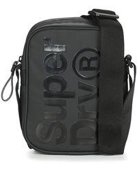 Superdry Side Bag Pouch - Black
