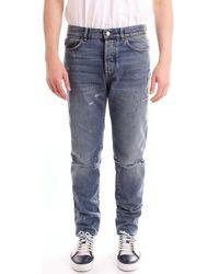 Givenchy BM503F5050 hommes Jeans en bleu