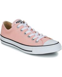 Converse - Chuck Taylor All Star Ox Women's Shoes (trainers) In Pink - Lyst