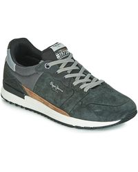 Pepe Jeans Tinker Pro Racer Shoes (trainers) - Gray