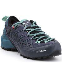 Salewa WS Wildfire Edge GTX 61376-3838 Chaussures - Bleu