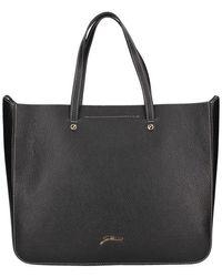 Gattinoni Bigve6650wha Shopper Bag - Black