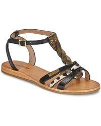 Les Tropéziennes Par M Belarbi - Hams Women's Sandals In Black - Lyst
