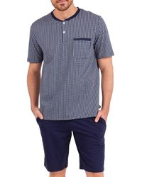 EMINENCE T-shirt - pyjama court - Bleu
