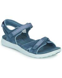 Columbia Sandales - Bleu