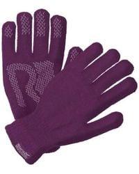 Regatta Adults Brevis Acrylic Knit Gloves Purple Gloves