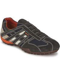 Geox Lage Sneakers Snake - Grijs