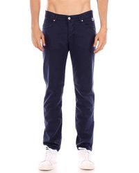 Roy Rogers 529 DRILL ELASTICIZZATO pantalon bleu Pantalon