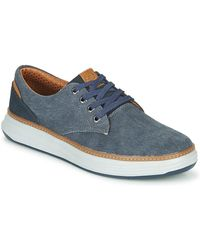 Skechers Lage Sneakers Moreno Ederson - Blauw