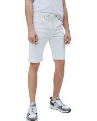 Pepe Jeans JAGGER SHORT - Blanco