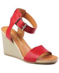 Ryłko - 9hh35ktb2f Women's Sandals In Red - Lyst