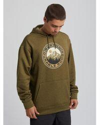 Burton Men's Oak Pullover Hoodie Sweat-shirt - Vert