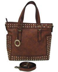 Loeds - Bolso Nina Poli Women's Handbags In Brown - Lyst
