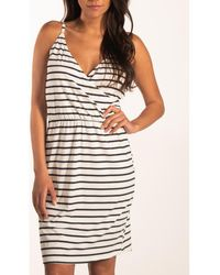 Beachlife Vestido Vestido verano Identity con tirantes finos - Negro