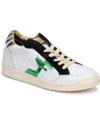 Serafini Lage Sneakers San Diego - Wit