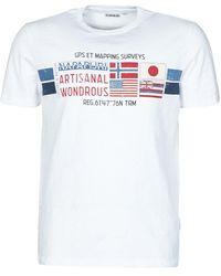 Napapijri SILEA T-shirt - Blanc