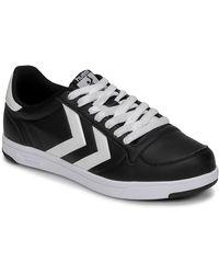 Hummel Lage Sneakers Stadil Light - Zwart