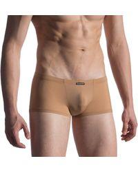 MANSTORE Boxer Unsichtbare Shorts M808 - Natur