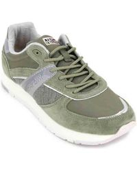 Napapijri - Rabina Trainers For Women Women's Trainers In Green - Lyst