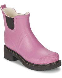 Ilse Jacobsen - Rub 47 Women's Wellington Boots In Purple - Lyst