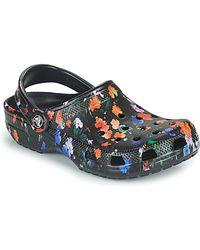Crocs™ Clogs CLASSIC PRINTED FLORAL CLOG - Schwarz