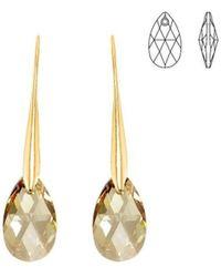 Sc Crystal BS010-SE003-ANPI Boucles oreilles - Métallisé