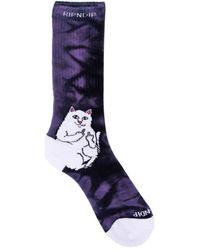 RIPNDIP Calcetines Lord nermal socks - Morado