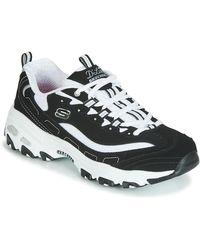 Skechers D'lites 3.0 Zenway 12955-wpkb, Zapatillas para Mujer - Blanco