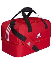 adidas Bolsa de deporte Tiro Duffel Bag - Rojo