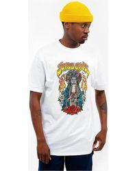 Santa Cruz Santa Muerte TShirt T-shirt - Blanc