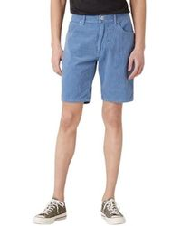 Wrangler Shorts Short Corduroy - Blau