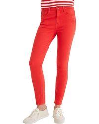 Desigual Jeans 21SWPN08 - Rojo