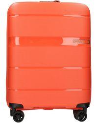 American Tourister Maleta rigida A088128453 - Naranja
