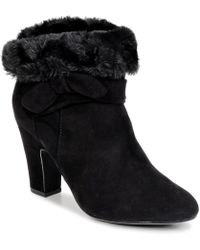 S.oliver - Jequialo Women's Low Ankle Boots In Black - Lyst