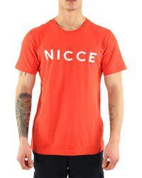 Nicce London T-shirt T-Shirt manches courtes Original Logo - Multicolore