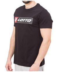 Lotto Leggenda LO-213456 T-shirt - Noir
