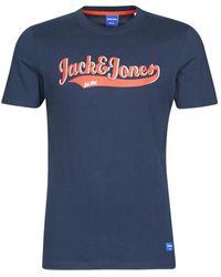 Jack & Jones T-shirt Korte Mouw Joraydon - Blauw