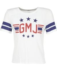 Volcom - Gmj Tee Women's T Shirt In White - Lyst