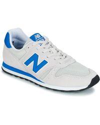 New Balance Lage Sneakers Ml373 - Grijs