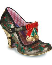 Irregular Choice Zapatos de tacón JINGLE BELL - Metálico
