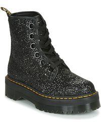Dr. Martens MOLLY GLITTER Chaussures - Noir