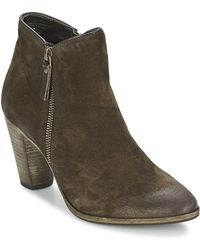 NDC - Snyder Women's Low Boots In Brown - Lyst