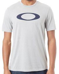 Oakley Granite Heather O-bold Ellipse T-shirt T Shirt - Grey